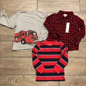 Sz 5 Boy's Shirts